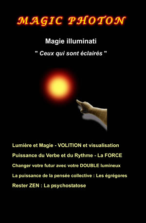 Magic photon magie des lluminati